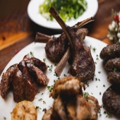 "THIS THURSDAY! 3/4  Tsiknopempti Special!!  🍖 🐖 🥩 🐄 🍗 🐓   $45pp.  -Mixed Grill; chicken thighs, bifteki, leek sausage, lamb chops -Handcut Fries  -Greek Salad -Tzatziki side -Dessert! 🍨   ""Tsiknopempti"" represents a highlight in a weeklong celebration of meat consumption. The festivities on Tsiknopempti revolve around large parties where massive amounts of meat are grilled or roasted"" ...and ENJOYED! 😋   ________________________  #herbandolive   📍 172 Plandome Rd Manhasset NY ☎️ 516 439 5421 ⏰ Wed-Sun 8am-8pm Thurs-Sat 8am-10pm 📲 www.herbandolive.com"