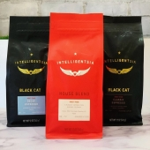 Intelligentsia Coffee available in our Marketa & freshly brewed in our cafe.